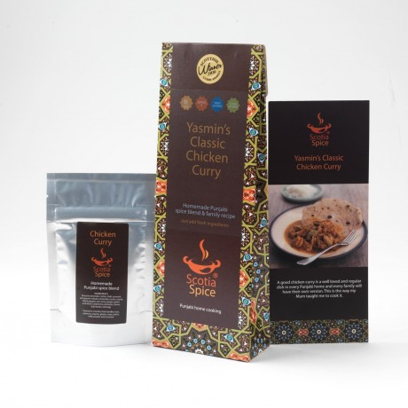 Yasmin's Classic Chicken Curry Recipe Kit