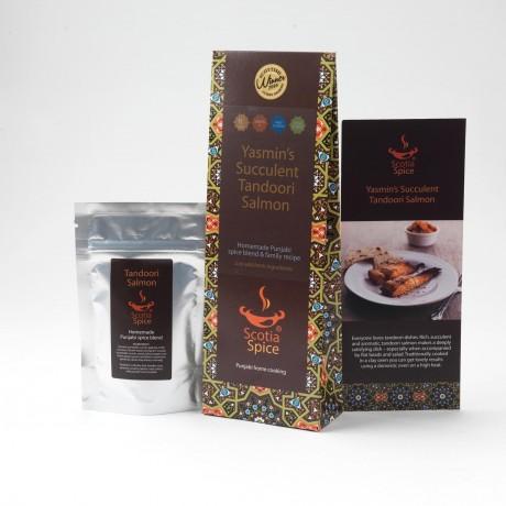 Yasmin's Succulent Tandoori Salmon Recipe Kit
