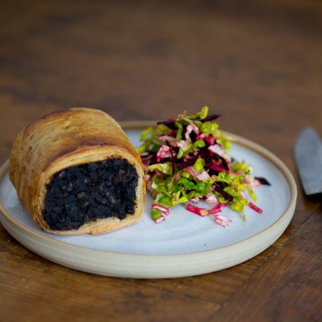 Black Pudding and Apple Sausage Rolls