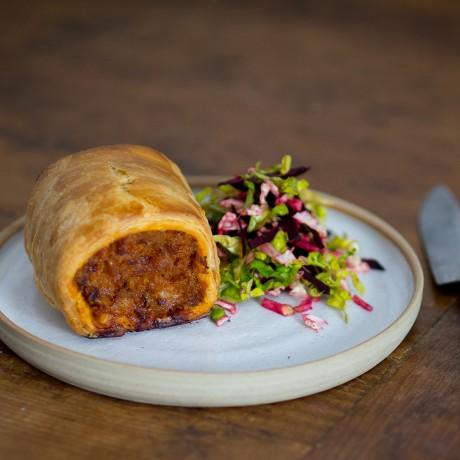 Pork and Pimenton Paprika Sausage Rolls