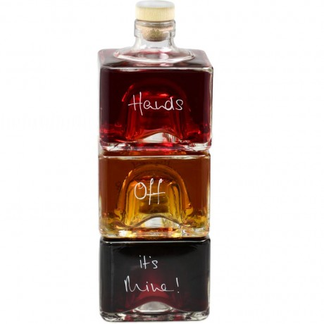 Personalised Liqueur Stacker Bottles Set