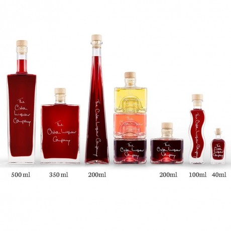 Rhubarb Vodka Liqueur (Personalisation & Choice of Bottle Shape)