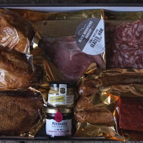 Black Mountains Smokery Meat Hamper Box