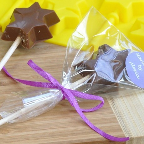 Personalised Chocolate Star Lollipops Making Kit