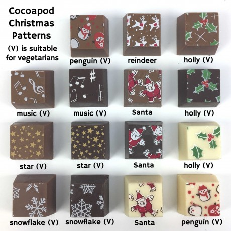 cocoapod chocolate merry christmas dad