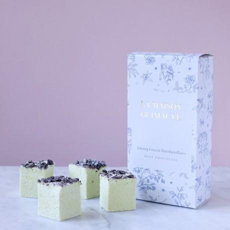 Mint Chocolate Marshmallows