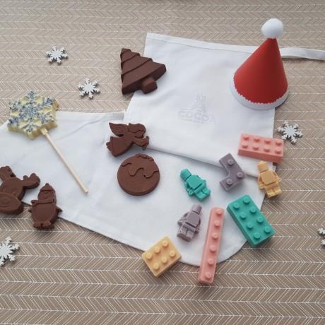 Childrens Chocolate Christmas Stocking