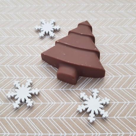 Christmas Chocolate Marshmallow Raspberry Tree