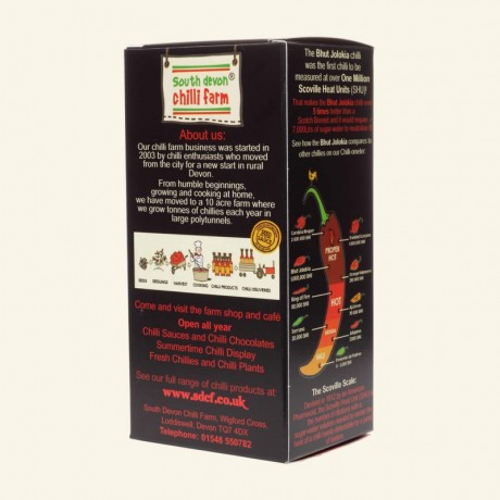Extreme Chilli Selection Gift in Black Hamper Box