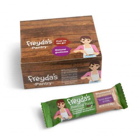 Breastfeeding Brownie Bars - Freyda's Feeding Food