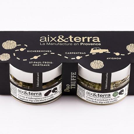 Truffle duo gift set by aix&terra