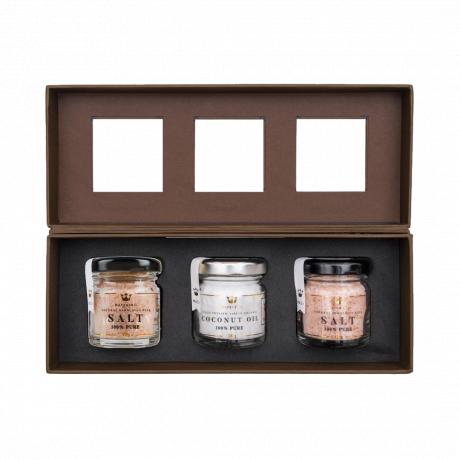Vegan Finesse Himalayan Salt & Coconut Oil Collection