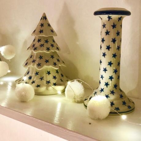 Christmas Snowball Pom Pom Fairy Lights