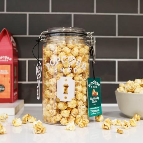 Peanut Butter Gourmet Popcorn