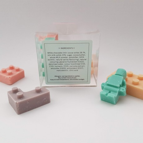 White Chocolate Lego