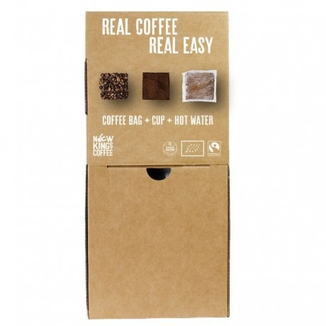 Fairtrade Organic Coffee Bags Bulk Dispenser Box