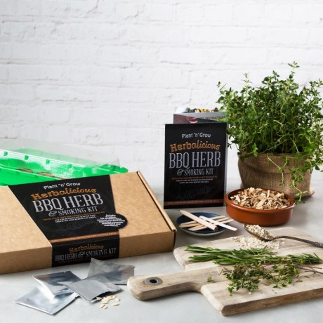Herbalicious BBQ Herb & Smoking Growing Kit