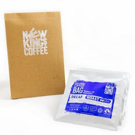 Organic Decaf Roast Coffee Bags - Peru
