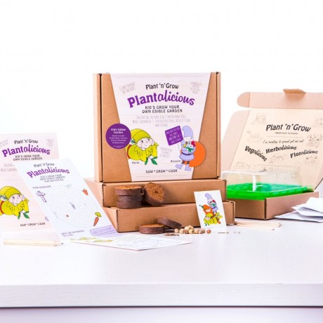 Plantalicious Kids Grow Your Own Edible Garden Kit