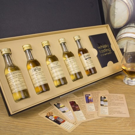 Premium Scottish Single Malt Whisky Set (Personalisation Available)