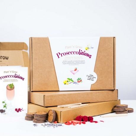 Proseccolicious Prosecco Botanical Cocktail Garden Growing Kit