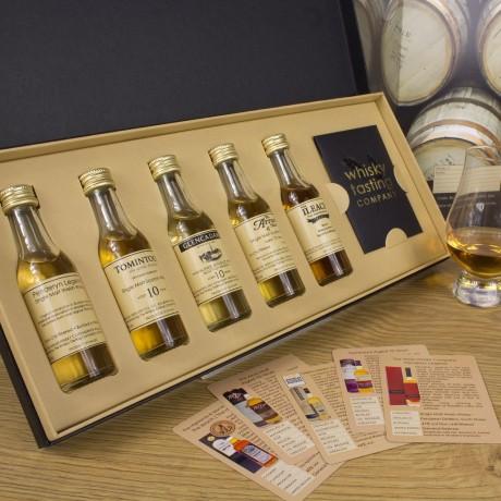 Corporate Branded Single Malt Whisky Set