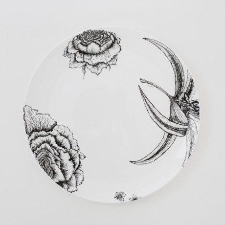 Floral Decadence 10 Inch Plate