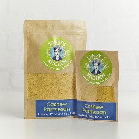 Cashew Almond Parmesan Vegan Cheese