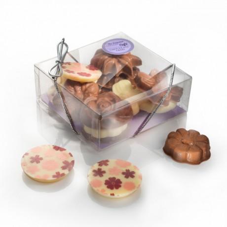 Chocolate Flower Gift Box
