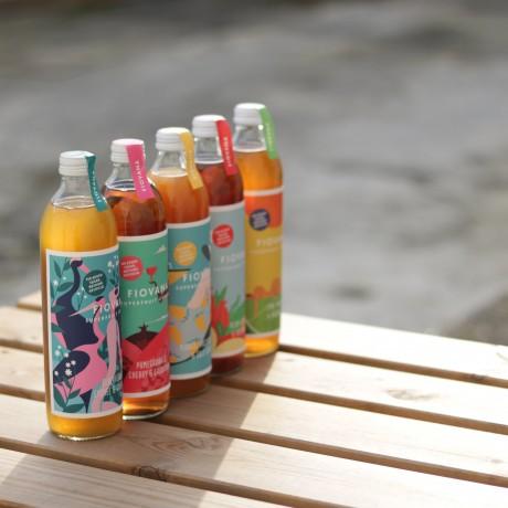 Super Fruit Cordial 2 bottle Giftbox