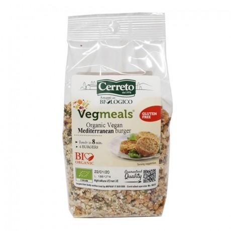 Organic Mediterranean Vegan Burger Mix
