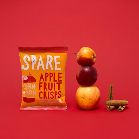 Spare Snacks Air-Dried Apple & Cinnamon Crisps