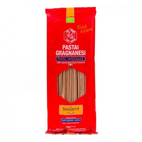 Organic Wholewheat Gragnano Spaghetti Pasta