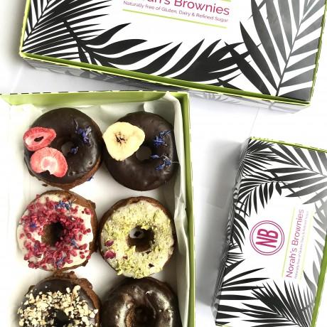 Variety Vegan Doughnuts