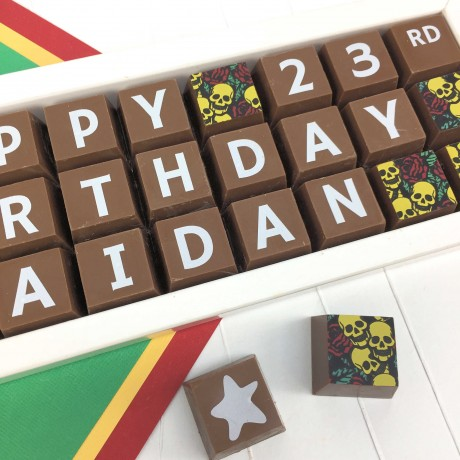Cocoapod personalised 30th Birthday Chocolate gift