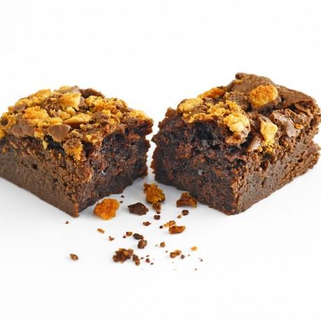 honeycomb brownie