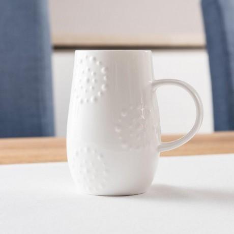 Fine Bone China Mug With Kaleidoscope Design