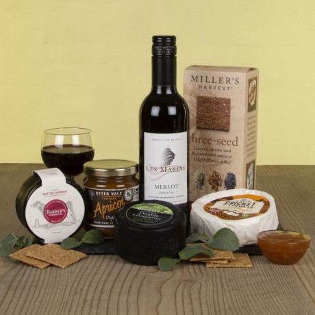 The Cheese & Wine Slate
