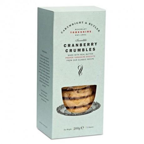 Cranberry Crumbles