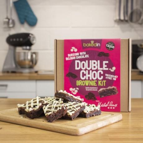 Bakedin Double Choc Brownie Kit