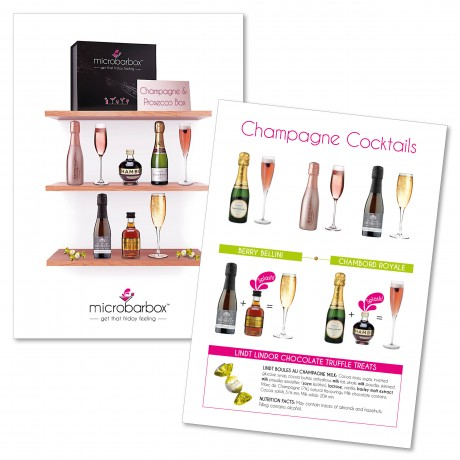 Champagne and Prosecco Box