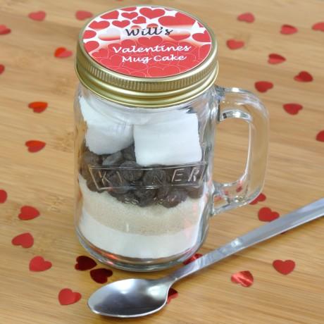 Valentines Chocolate Mug Cake Treat