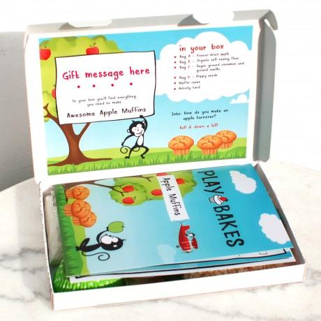 Personalised Kids Banana Chia Crumble Baking Kit