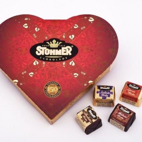 Chocolate Heart Pralines
