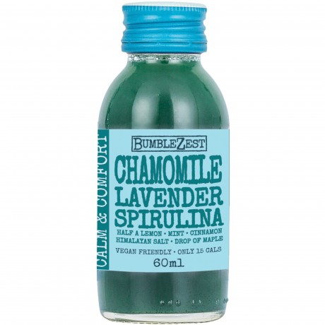 Chamomile, Lavender & Spirulina (Calm & Comfort) Superfood Drinks