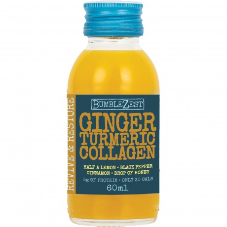 Ginger, Turmeric & Collagen (Revive & Restore) Superfood Drinks