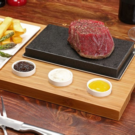 The Sizzling Steak Hot Stone Cooking Set