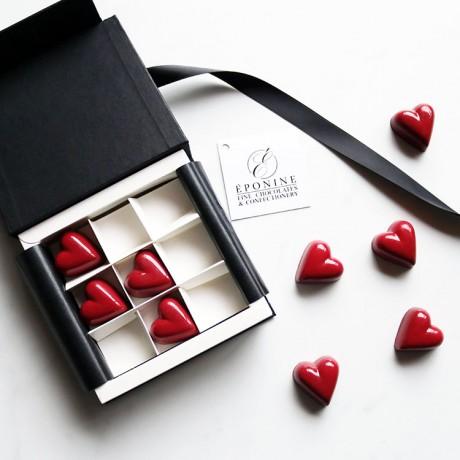 Caramel & Gianduja Hearts