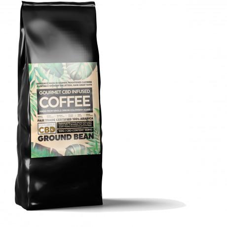 CBD Coffee 100g Bag Front