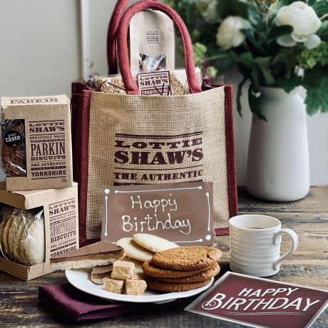 Happy Birthday Gift Bag of Delicious Treats